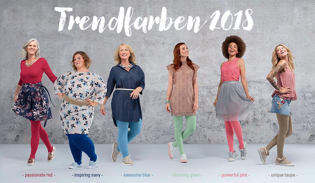 2018 Trendfarben   FRAUENSACHE