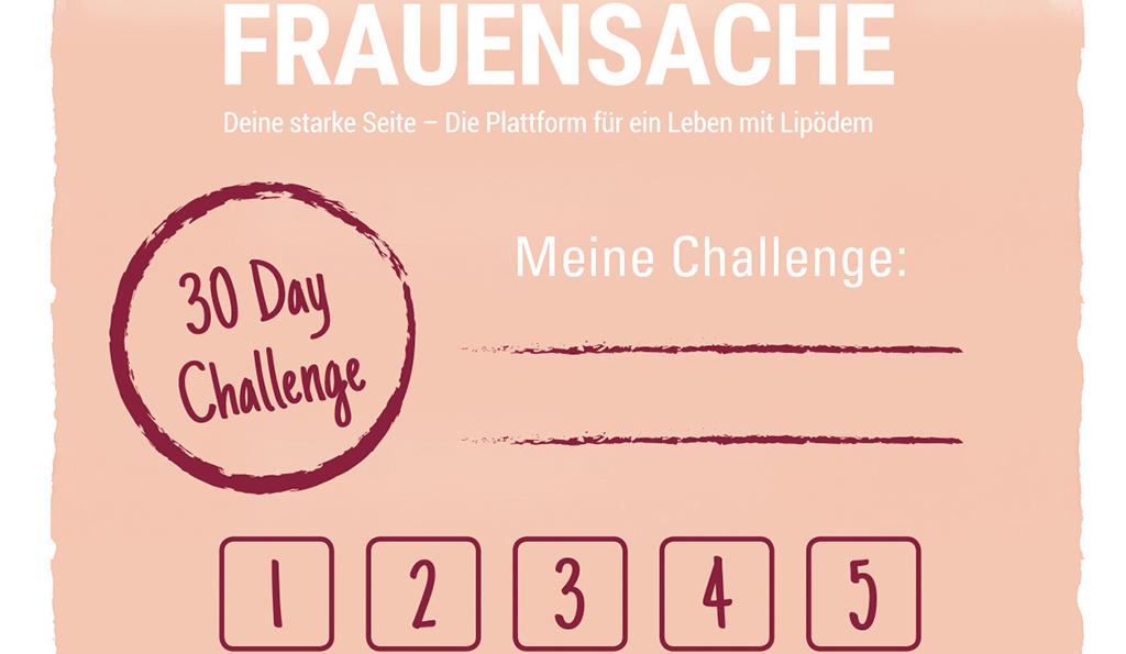 30 Day Challenge | deinestarkeseite.de
