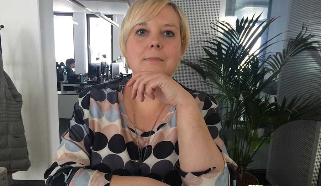 Britta nach ihrer Liposuktion an den Armen