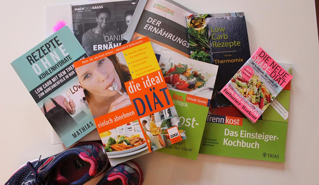 Bücher über Diäten und Ernährung
