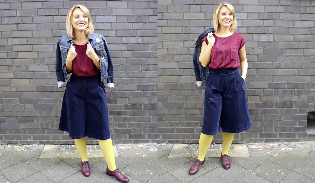 Marlenes Outfit für die Herbsttage.