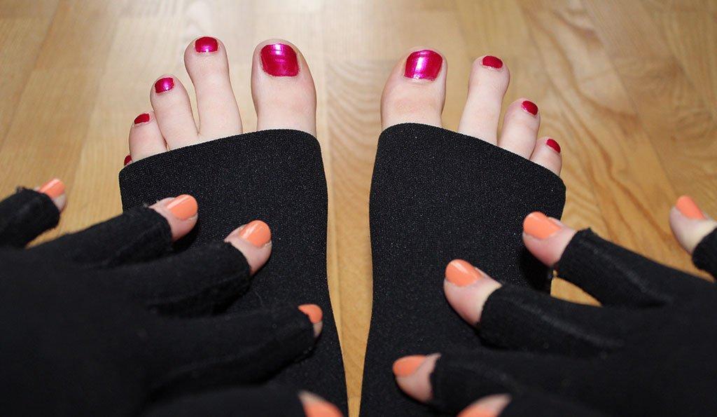 Kathis Füße und Hände