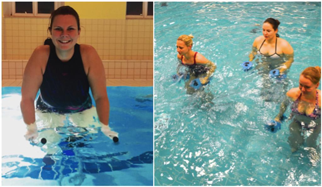 Warum das Training im Wasser so effektiv ist   FRAUENSACHE