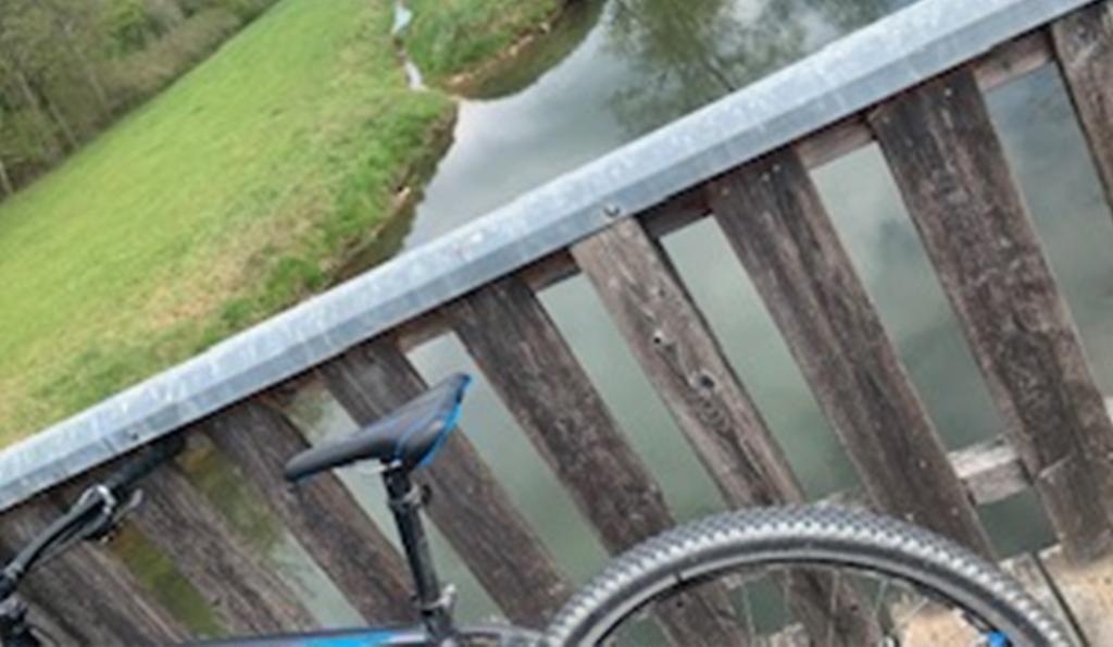 Fahrradfahren mit Kompression funktioniert super