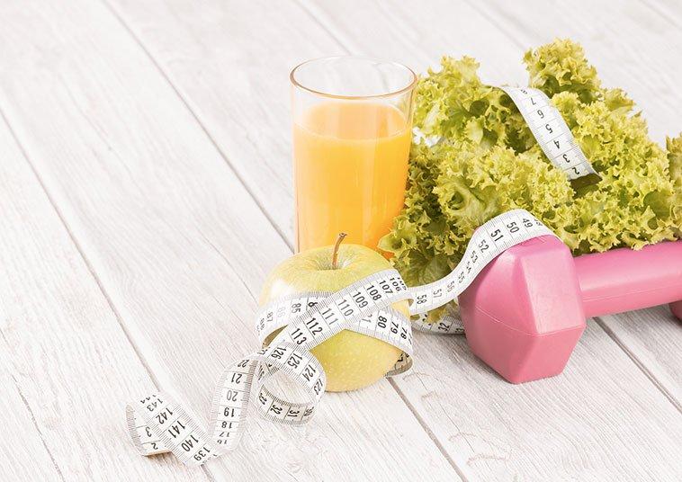 Gemüse und Maßband | FRAUENSACHE